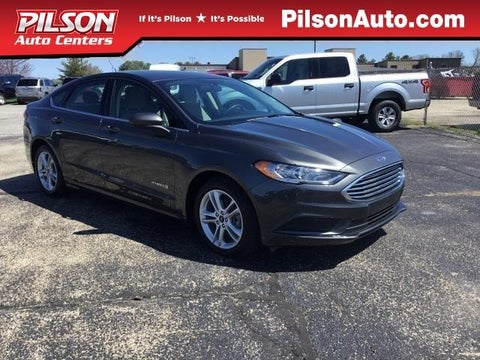 2018 Ford Fusion Hybrid S Fwd In Mattoon Il Pilson